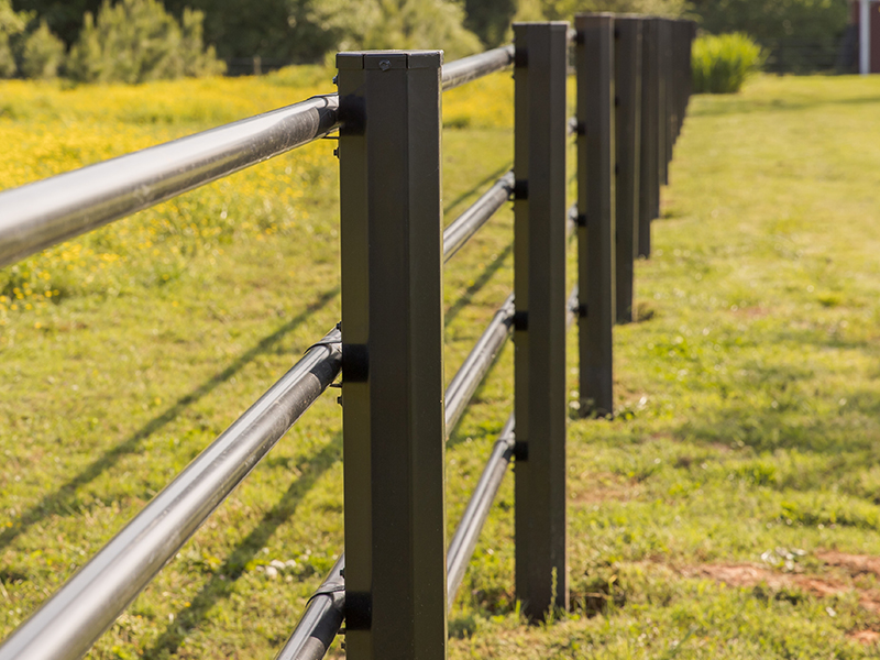 Attractive Pipe Fence