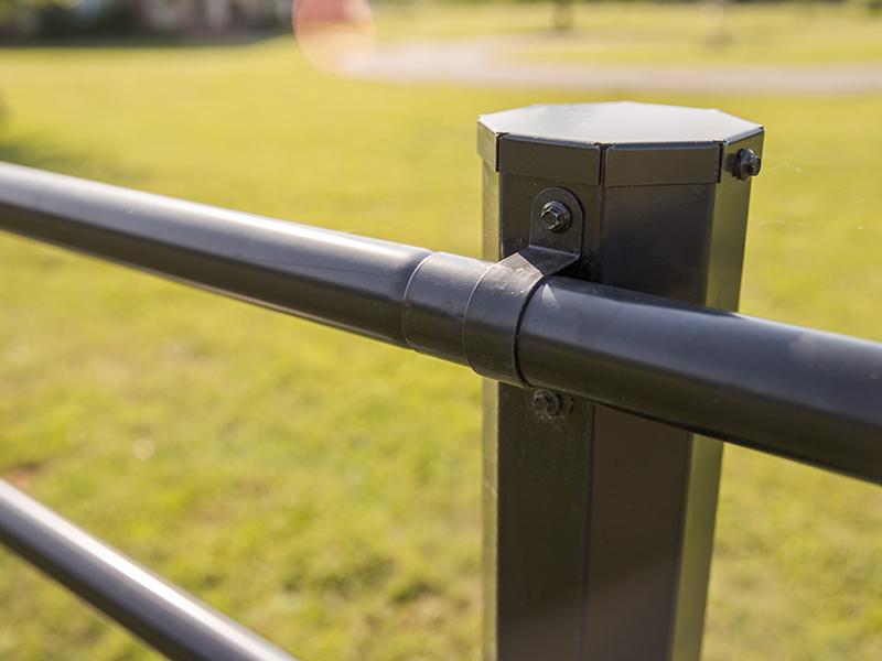 Maintenance Free Fence Rails